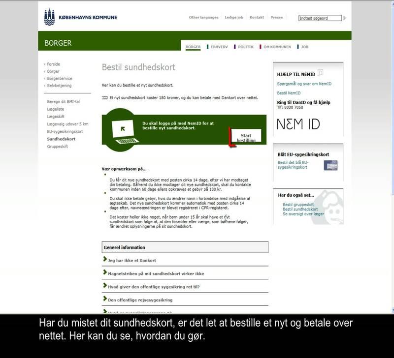 a39d4d98683d Bestil nyt sundhedskort - Video.kk.dk